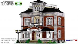 houses build custom lego house instructions victorian homes