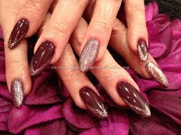 weeklywackynails maroon nail art nail art maroon embellished