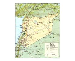 Maps Syria by Maps Of Syria Detailed Map Of Syria In English Tourist Map