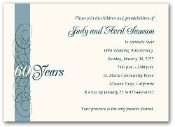 60th wedding anniversary ideas 60th wedding anniversary invitations 60th wedding anniversary