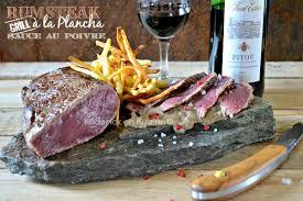 recette cuisine plancha rumsteak recette rumsteak plancha sauce poivre kaderick