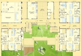 3d buildings and the floor plan top view rayvat engineering house