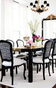 excellent black dining room chairs 6 table with arms brown rug
