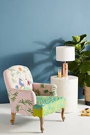 Blue Suede Chair Chairs Velvet Chairs Leather Chairs U0026 More Anthropologie
