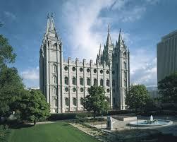 Lds Temples Map Salt Lake Temple