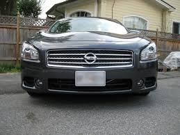 nissan maxima hid headlights review 2010 nissan maxima sv w premium and tech packages road