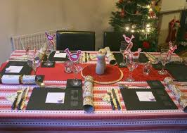 christmas day dinner table games christmas table decorations archives dinner layout loversiq