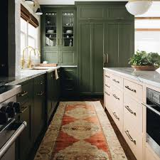 green kitchen cabinets with white island green kitchen cabinet ideas