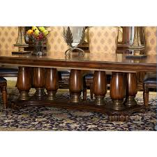 Michael Amini Dining Room Furniture Aico Pedestal Dining Table Grand Masterpiece Collection By Michael
