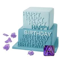 accessories 40 pcs number letters happy birthday plastic fondant