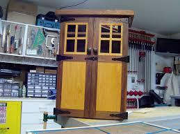 Building A Liquor Cabinet Nick U0027s Liquor Cabinet The Wood Whisperer