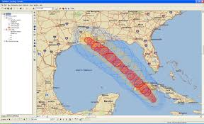 Hurricane Map Gis Helps Hurricane Preparation And Response U2013 Gis Use In Public
