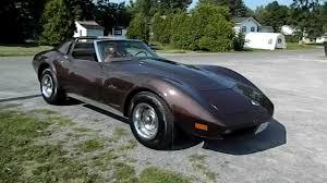 74 corvette stingray shiny 1974 chevy corvette stingray start up and go