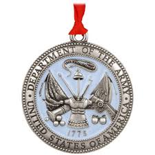 us army pewter ornament