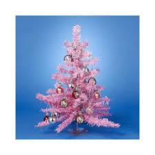 buy 15 hello pink miniature tinsel tree with ornaments and