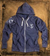 Rugged Clothing Rugged Blue Tiger Hoodie Men U0027s Clothing Towneship Mfg Co