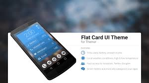 flat card ui theme android apps on play