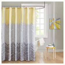 Gray And Teal Shower Curtain Geometric Shower Curtain Target
