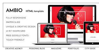 ambio u2014 unique personal blog magazine responsive html template