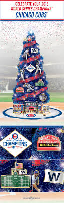 chicago cubs tree collection pre lit tree lighted