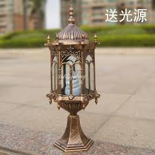 Outdoor Electric Post Lights by Online Buy Wholesale Garden Lamp Post From China Garden Lamp Post