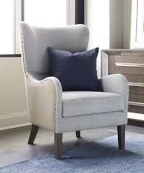 High Back Wing Chairs For Living Room by Amazon Com Tommy Hilfiger Warner Wingback Chair Two Tone