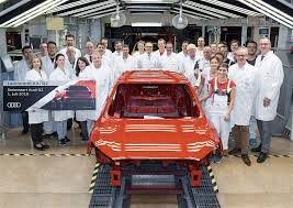 audi factory audi q2 enters production at company u0027s main plant autoevolution