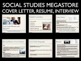 Resume And Resume Cover Letter And Resume And Job Interview By Social Studies