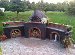 Brick Oven Backyard by 162 Best Design Oven And Grill Images On Pinterest Outdoor