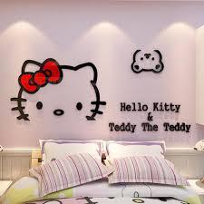 hello kitty bedroom decor hello kitty bedroom wall stickers the hello kitty wall decor for