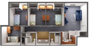 Gwu Floor Plans The 30 Most Luxurious Student Housing Buildings Best College Values