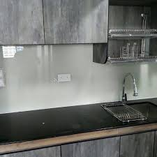 Glass Backsplash For Kitchen Lowest Price In Sg Kitchen Backsplash Tempered Glass In Any