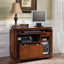 Small Computer Desks With Drawers To It Home Styles Homestead Compact Computer Armoire