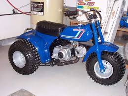 this is a very rare bike the 1983 honda atc70 christmas special