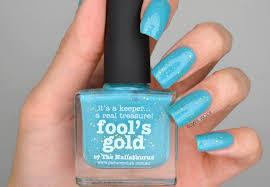 nails picture polish fool u0027s gold swatch manimonday cosmetic