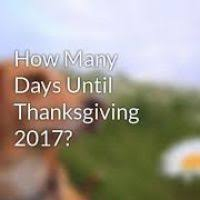 thanksgiving 2017 how many days divascuisine
