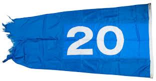 Chicago Cubs Flags Lot Detail 2015 Chicago Cubs U201ckw 20 U201d Kerry Wood 20k Flag Flown