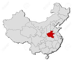 Map Of China Provinces Political Map Of China With The Several Provinces Where Henan