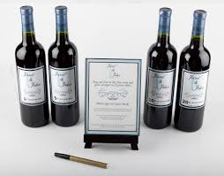 wine bottle guestbook a great alternative to the traditional wedding guest book
