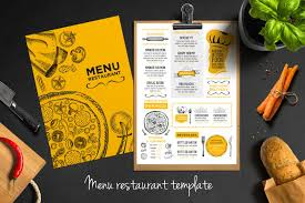 restarunt brochure restaurant brochure bundle can be used on