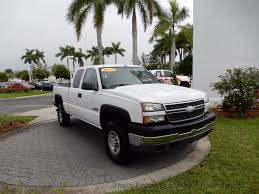 2005 used chevrolet silverado 2500hd ext cab 157 5