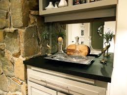 kitchen mirror backsplash interior inspiration interior incridible stacked stone wall