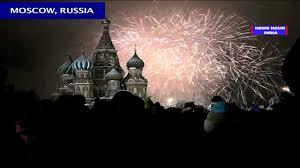 new year 2015 celebrations around the world sydney moscow