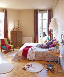 Open Space Bedroom Design Apartments Contemporary Apartment With Colorful Interior And Open