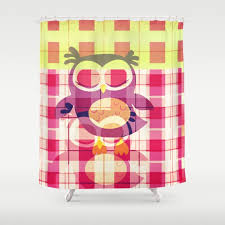 gingham shower curtains society6