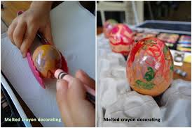 How To Decorate Boiled Eggs For Easter Easter Craft Idea 3 Ways To Decorate Boiled Eggs Be A Fun Mum