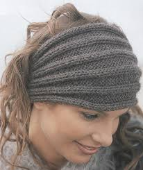 knitted headband headband and headwrap knitting patterns in the loop knitting
