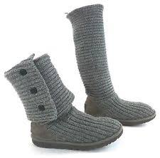s ugg type boots ugg australia womens cardy boots grey 5819 6 ebay