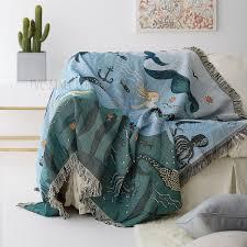 ou jeter un canapé sirène motif chaud glands canapé jeter couverture couverture canapé