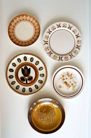Decorative Hanging Plates Decorative Plates Kitchen Wall Decor Shabby Chic Cottage Home